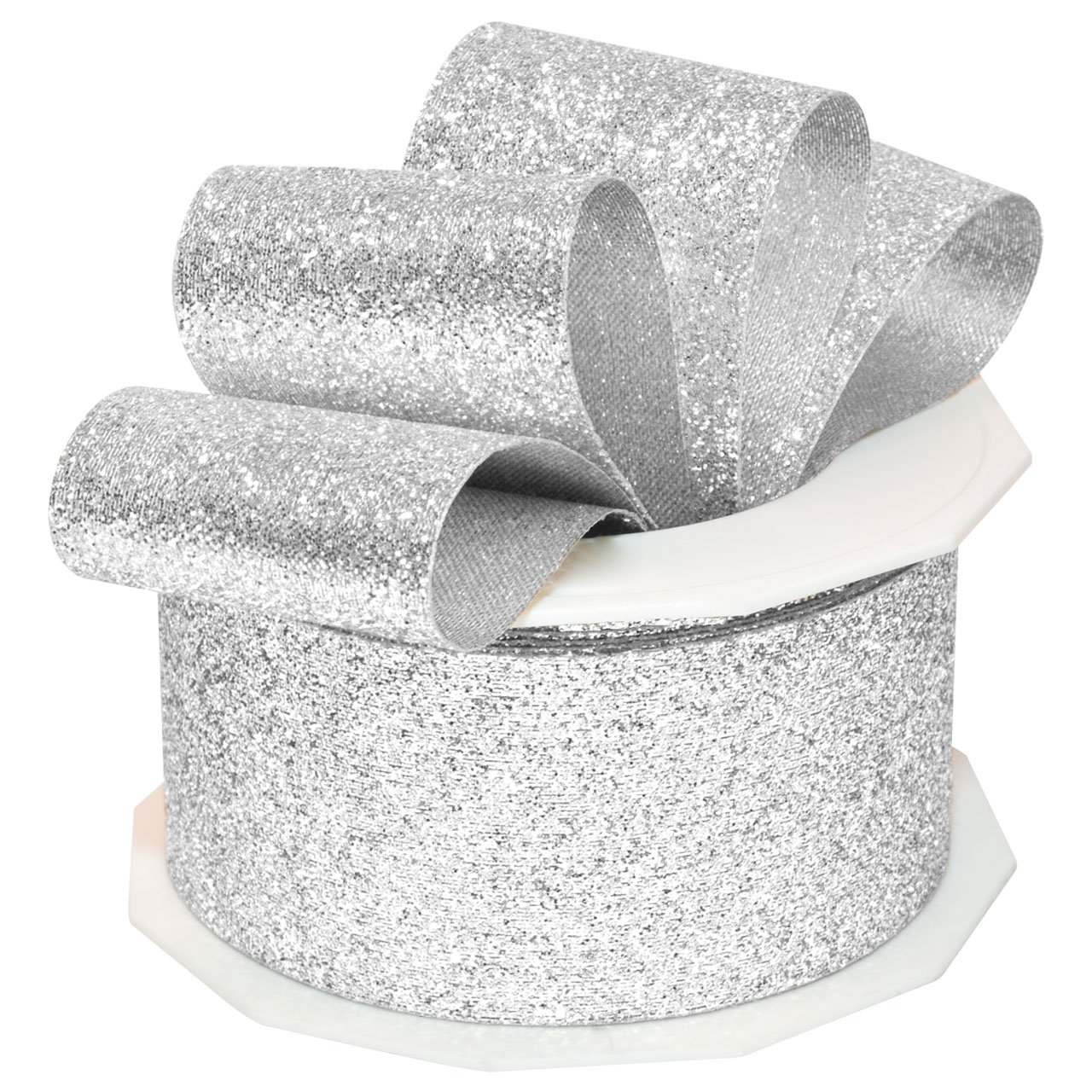 Yardbright coupon codes - Amazon Com Morex Ribbon 98509 10 631 Metallic And Nylon Princess Glitter Ribbon 1 1 2 Inch By 10 Yard Silver