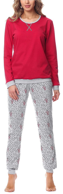 TALLA S. Merry Style Pijama Conjunto Camiseta y Pantalones Mujer MS10-168