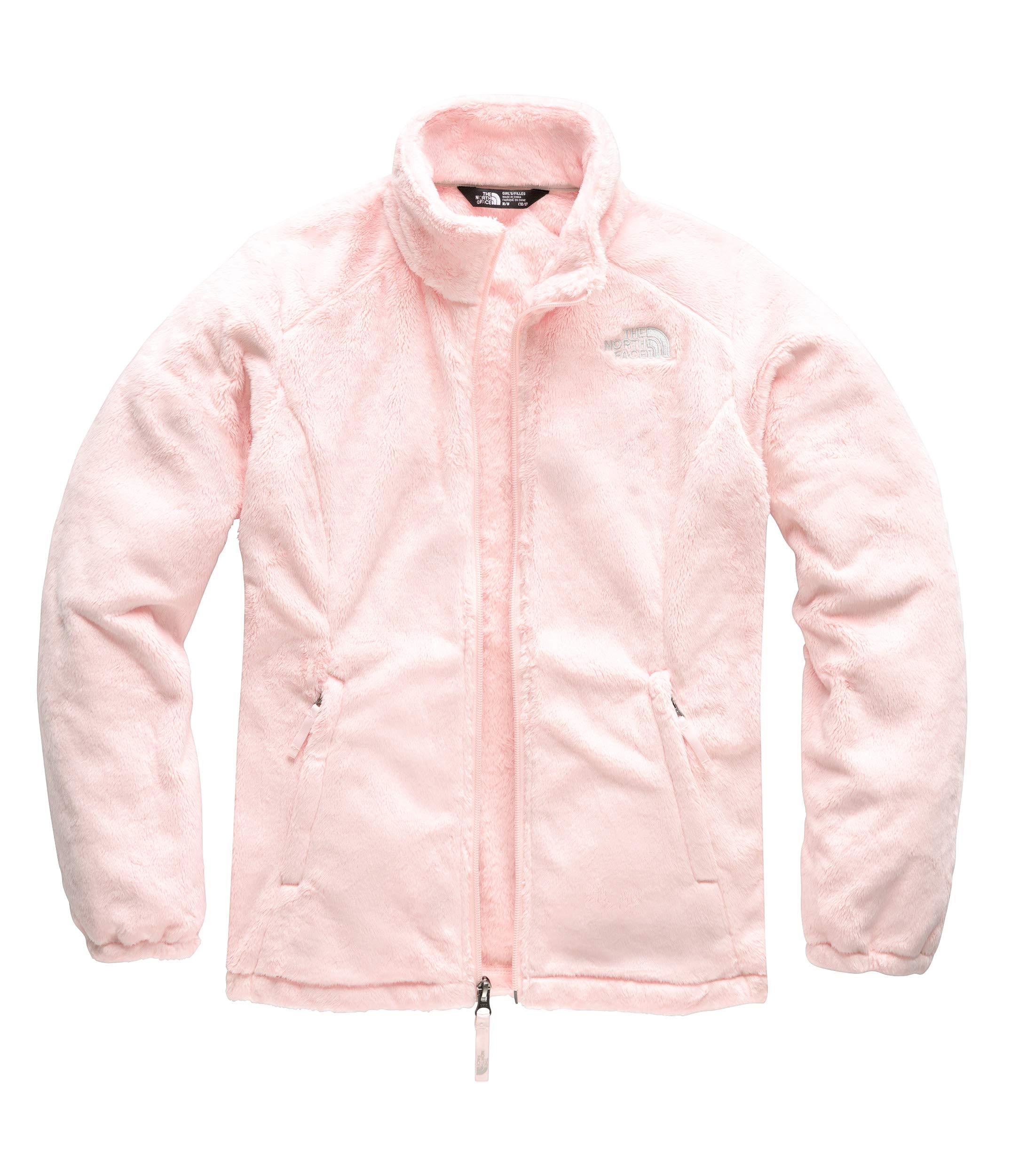 The North Face Girls' Osolita Jacket, Pink Salt, Small