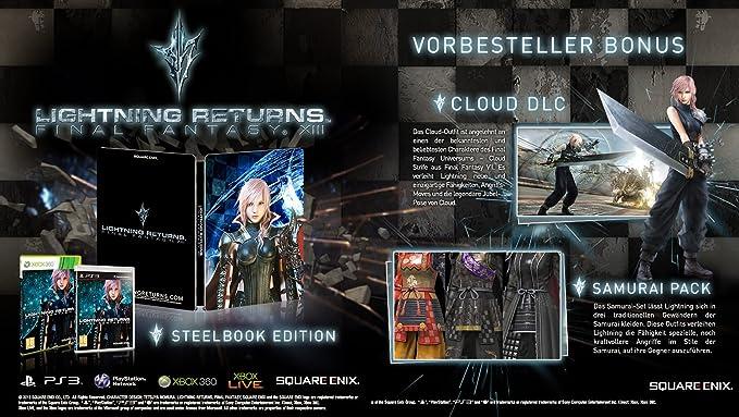 LIGHTNING RETURNS Final Fantasy XIII Limited Edition [Importación Inglesa]: Amazon.es: Videojuegos