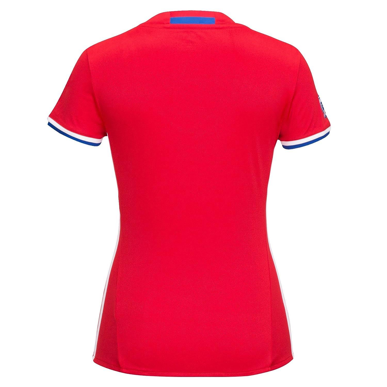 MLS Fc Dallas Womens Replica Short Sleeve Team Jersey Red X-Large
