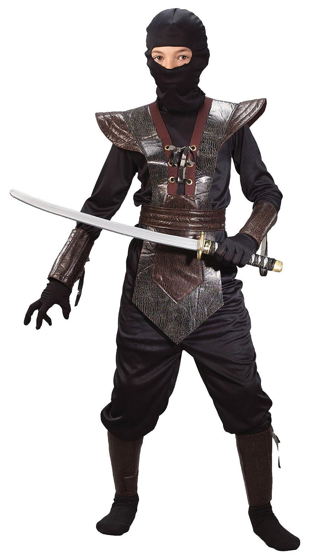 Amazon.com: Fun World Big Boys Leather Ninja Fighter ...