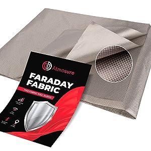 Atmosure 1 Yard Copper Faraday Fabric (44