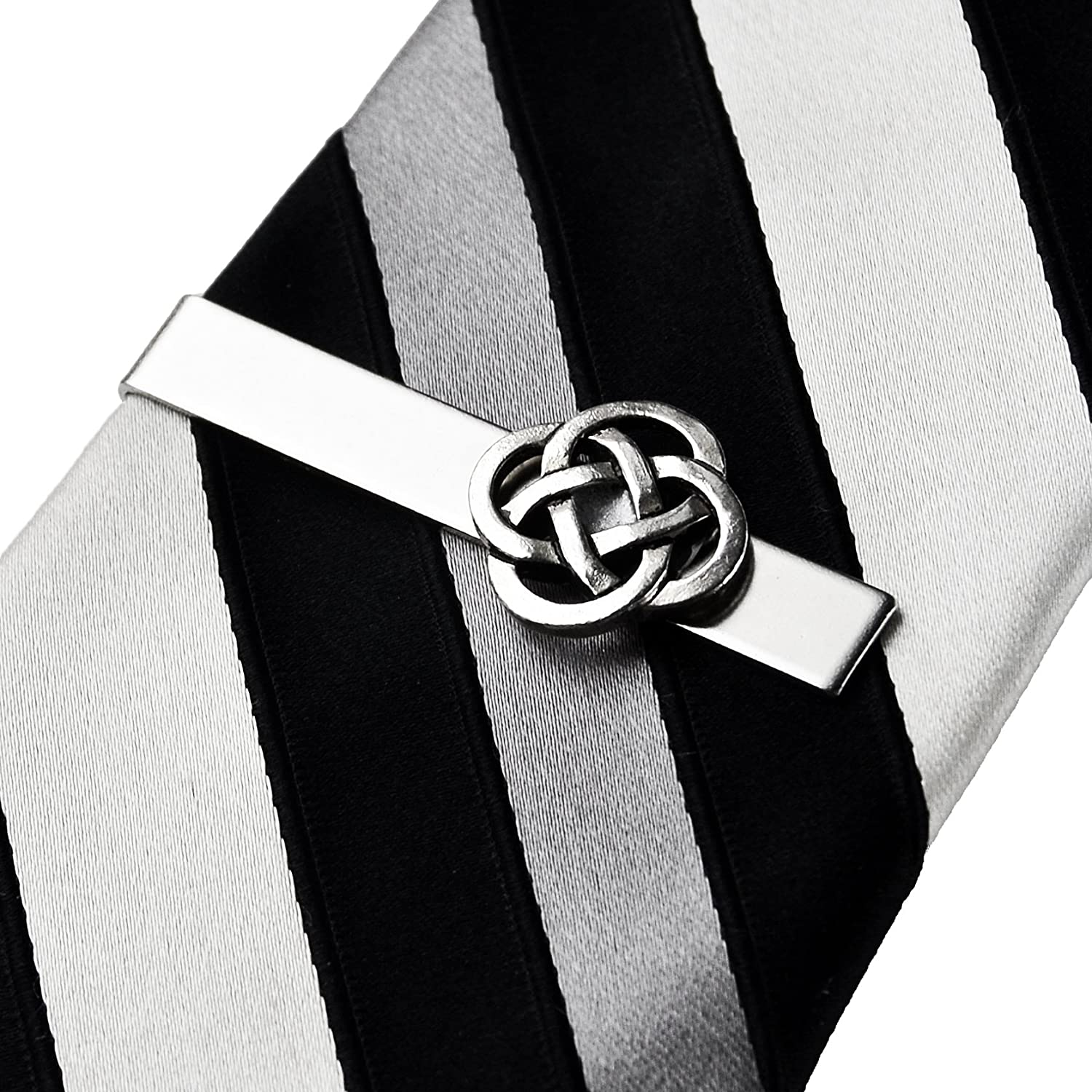 Quality Handcrafts Guaranteed Celtic Knot Tie Clip