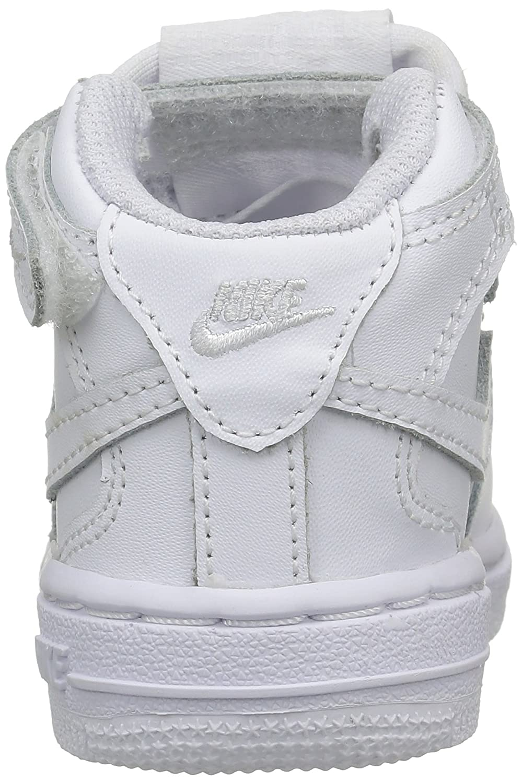 Nike Zapatillas Force 1 Mid Niños (TD) (White Zapatillas Bebé Niños Mid 63c46d
