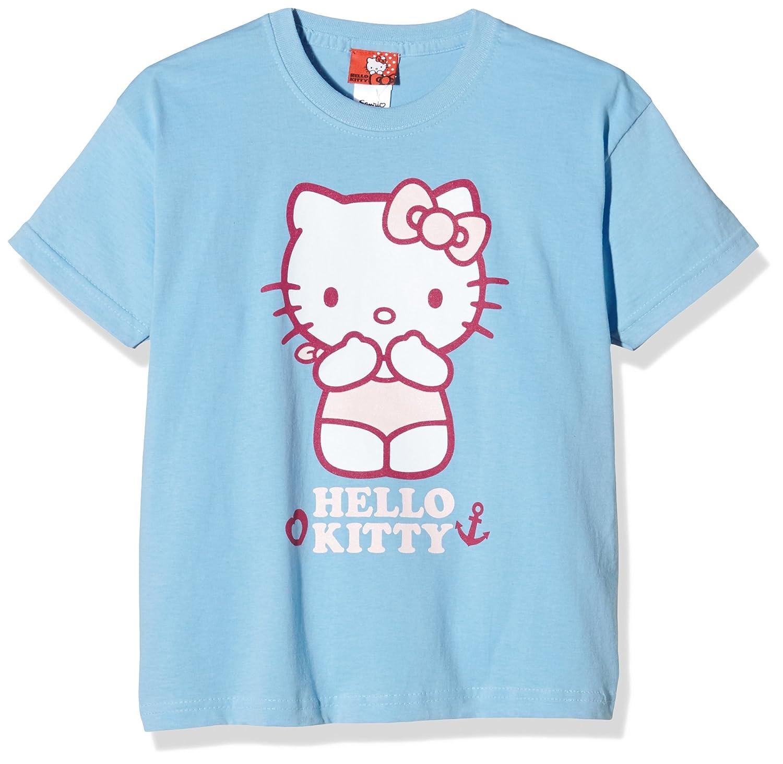 Hello Kitty Girl's Anchor T-Shirt RFKTS146