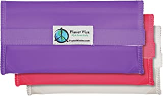 product image for Planet Wise Tint Snack Bag - 3-Pack - Hook and Loop (Pink/Purple)