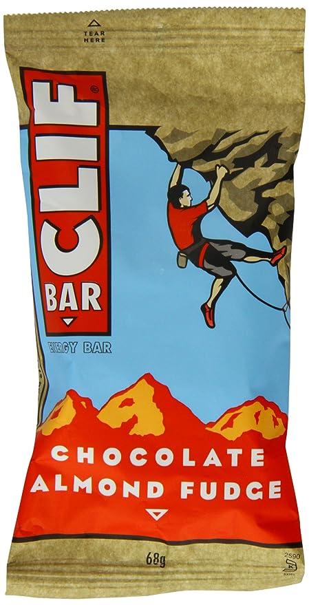 Clif - Barra de Energía de Dulce de Leche de Almendras y Chocolate Orgánico 68g (