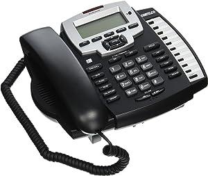 Cortelco ITT-9225 2-Line Speakerphone with Caller ID/Call Waiting,Black