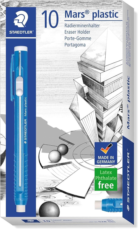 Staedtler 528 50 Radierminenhalter Mars plástico, 10 Stück im Kartonetui