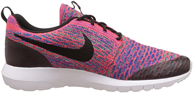 low priced 7cd21 c2b9a Amazon.com   NIKE Men s Roshe NM Flyknit SE, Bright Crimson Black-Green  Stark-Game Royal, 13 M US   Road Running