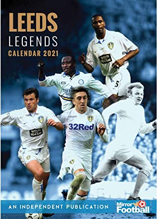 Leeds United Legends A3 Calendar 2021