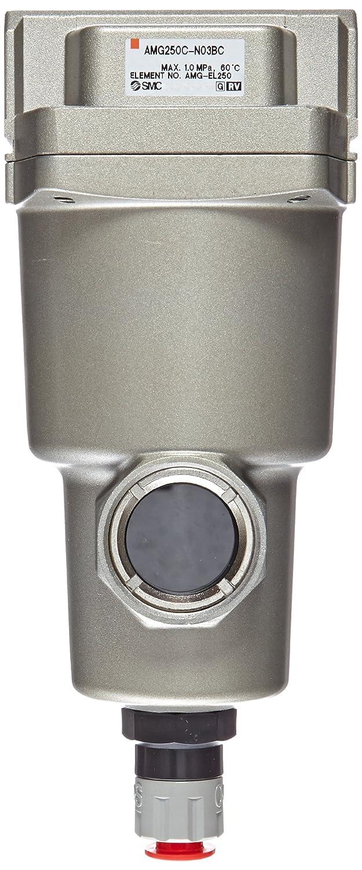 750 L//min N.C 3//8 NPT Auto Drain SMC AMG250C-N03BC Water Separator Mounting Bracket