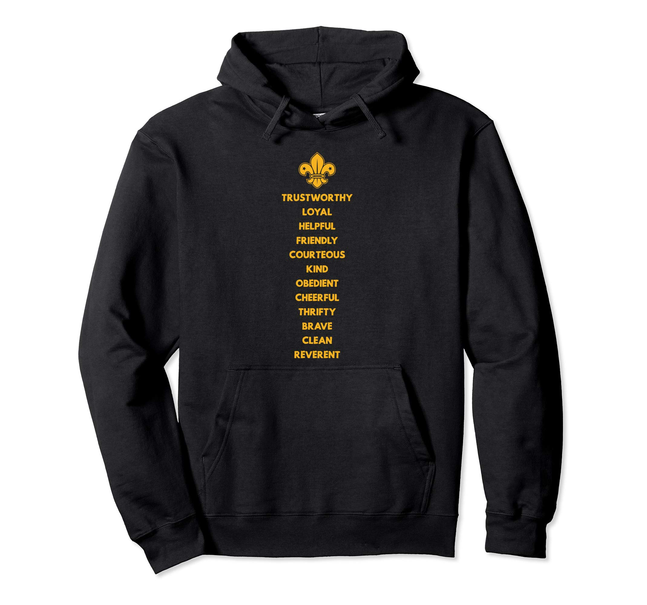 scout law scout scouting member supporter hoodie by Scout Shirts For Scouting Members & Supporters