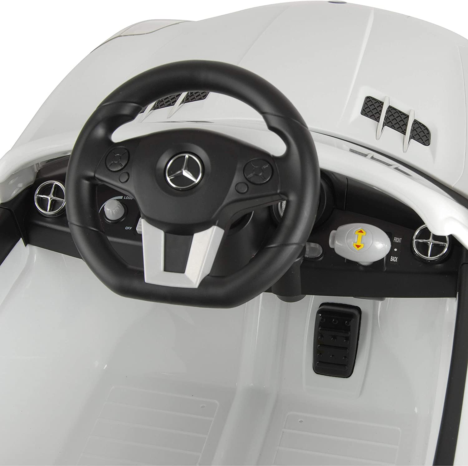 GLA Mercedes-Benz Officially Licensed Kids Electric Ride On Car with LED Headlights and MP3 Connection