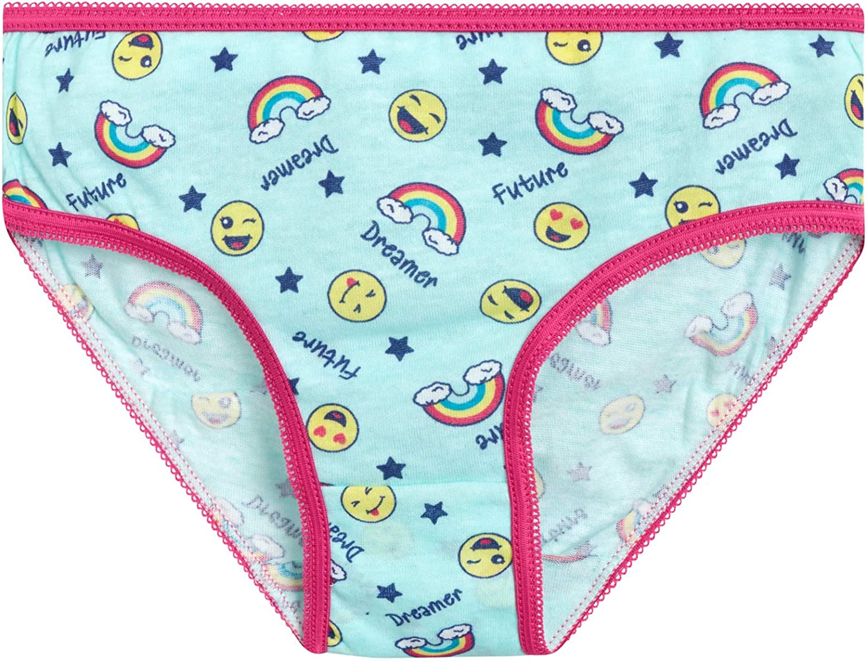 Limited Too Girls/' Stretch Comfort Cotton Bikini Underwear 10 Pack
