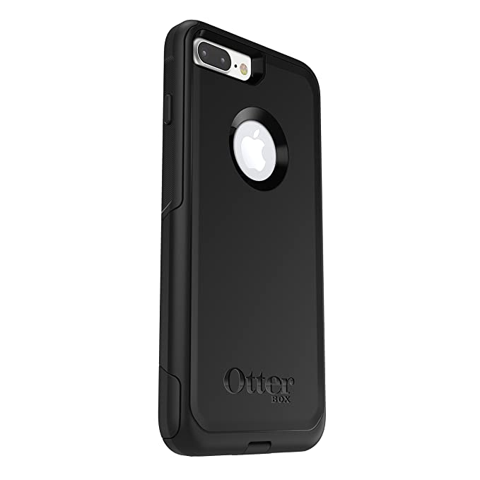 the best attitude c3bbe 7677f OtterBox COMMUTER SERIES Case for iPhone 7 Plus (ONLY) - Retail Packaging -  BLACK