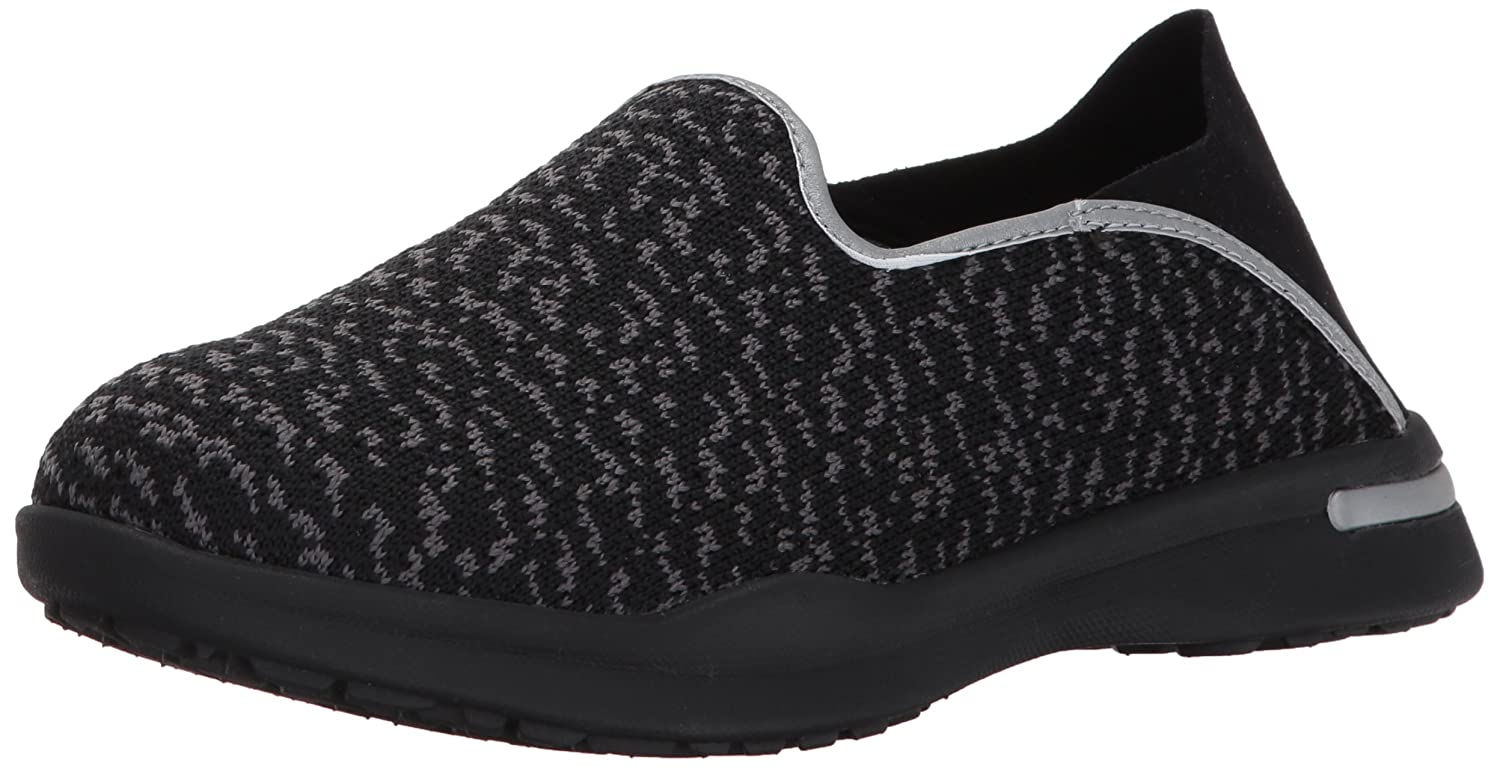 SoftWalk Women's Simba Flat B01N5HTUZA 6.5 N US|Black/Grey