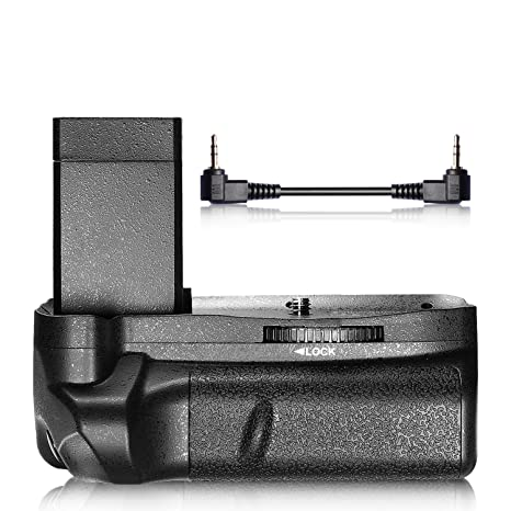 NEEWER Vertical Battery Grip Hold 2PCS LP-E10 Li-ion Battery for Canon EOS  1100D / 1200D / 1300D /Rebel T3 / T5 / T6