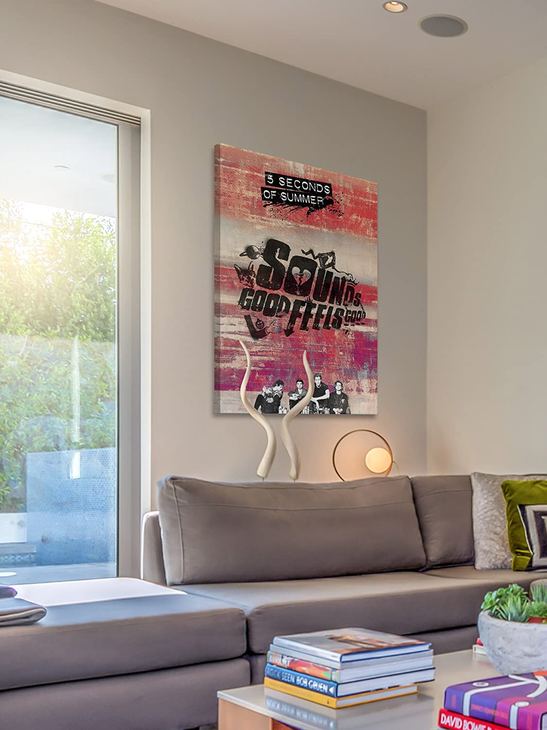 Marmont Hill Alright Though Painting Print on Wrapped Canvas 12 x 18 Multicolor Inc MH-5SOS2-502-C-18