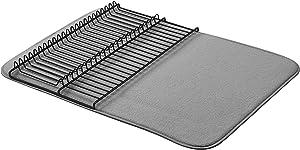 "AmazonBasics Large Drying Rack - 18""x24"" - Charcoal/Black"