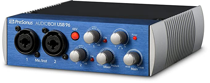 Review PreSonus AudioBox USB 96
