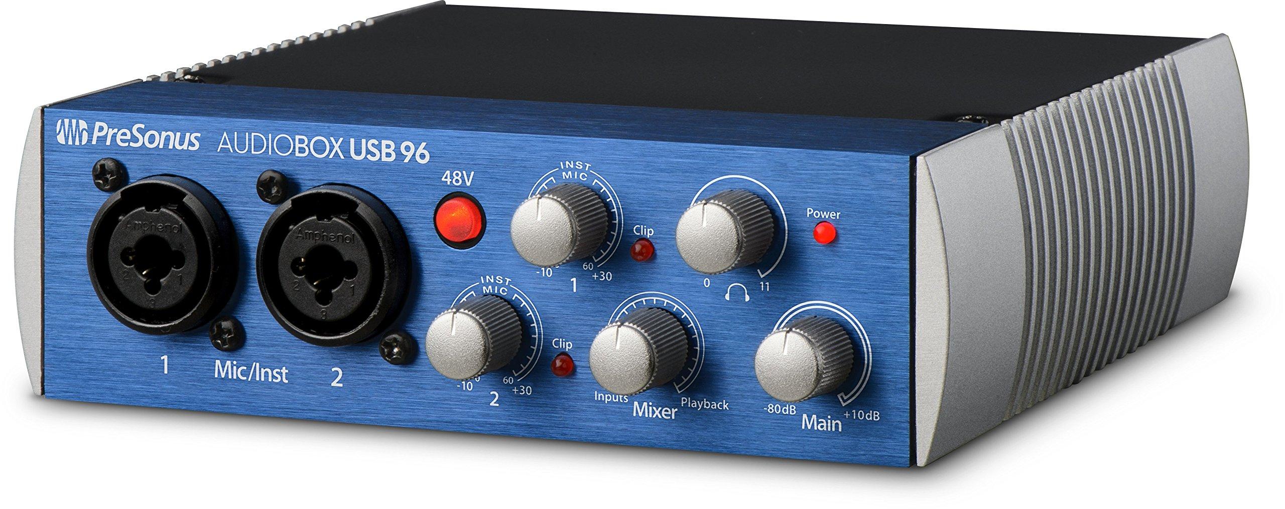 PreSonus AudioBox USB 96 2x2 USB Audio Interface by PreSonus