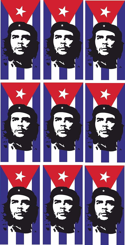 Mini pegatinas – 5 x 2,5 cm – Che Guevara en Cuba Cuba bandera ...