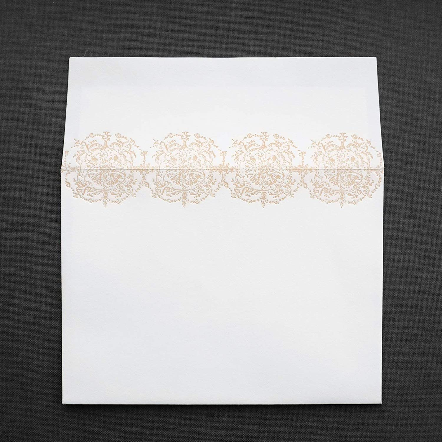 Duchess of Cameron Letterpress Floral Congratulations Note Card