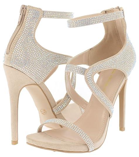 | Shoe Republic Open Toe High Heel Sandal w