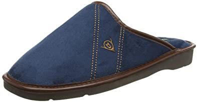 4bbe5b3af21c3 Dunlop Men's Alphonse Low-Top Slippers: Amazon.co.uk: Shoes & Bags