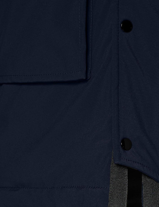 Blauer Impermeabile/Trench Lunghi Imbottito Piuma Giacca Uomo 888 Blu