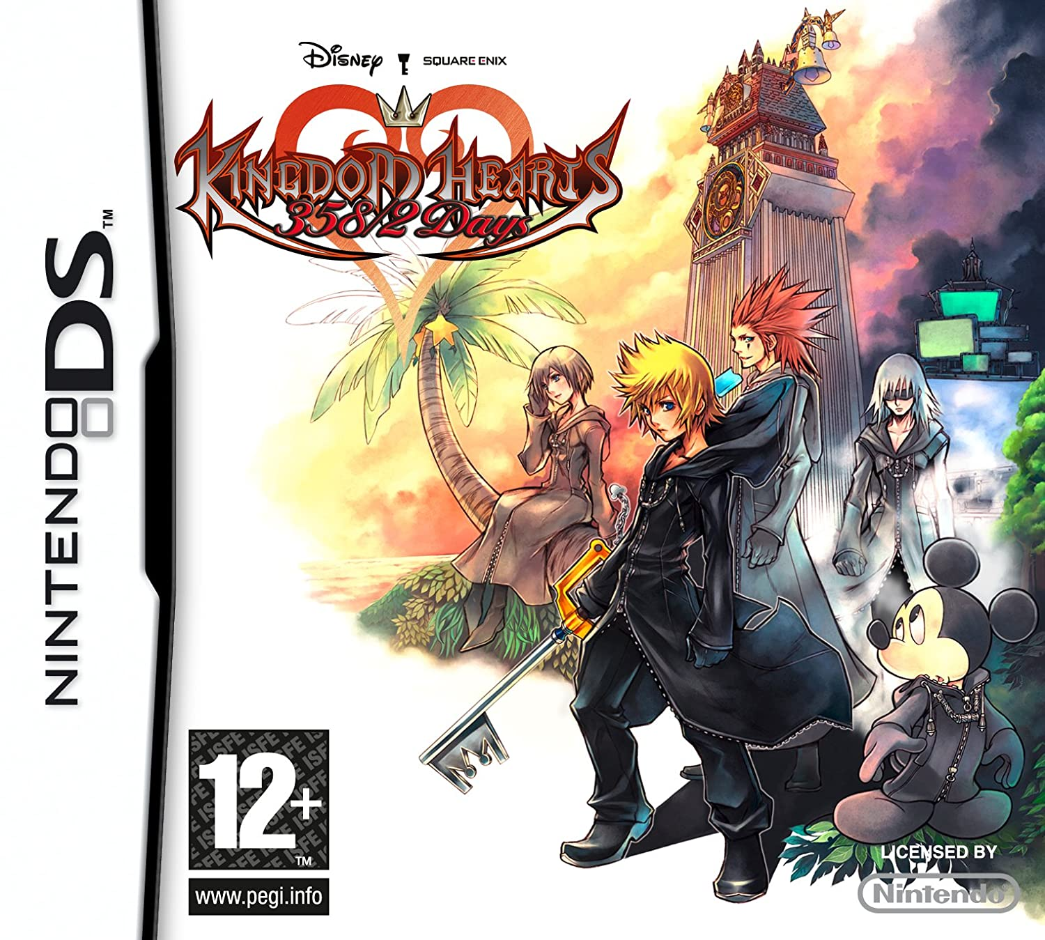 Kingdom Hearts 358/2 Days (Nintendo DS): Amazon co uk: PC