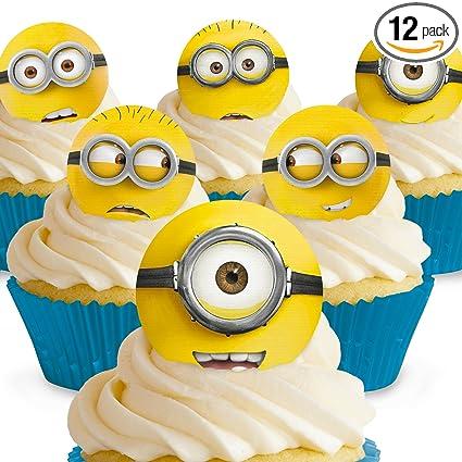 Cakeshop 12 x Precortado Despicable Me Minions Movie ...