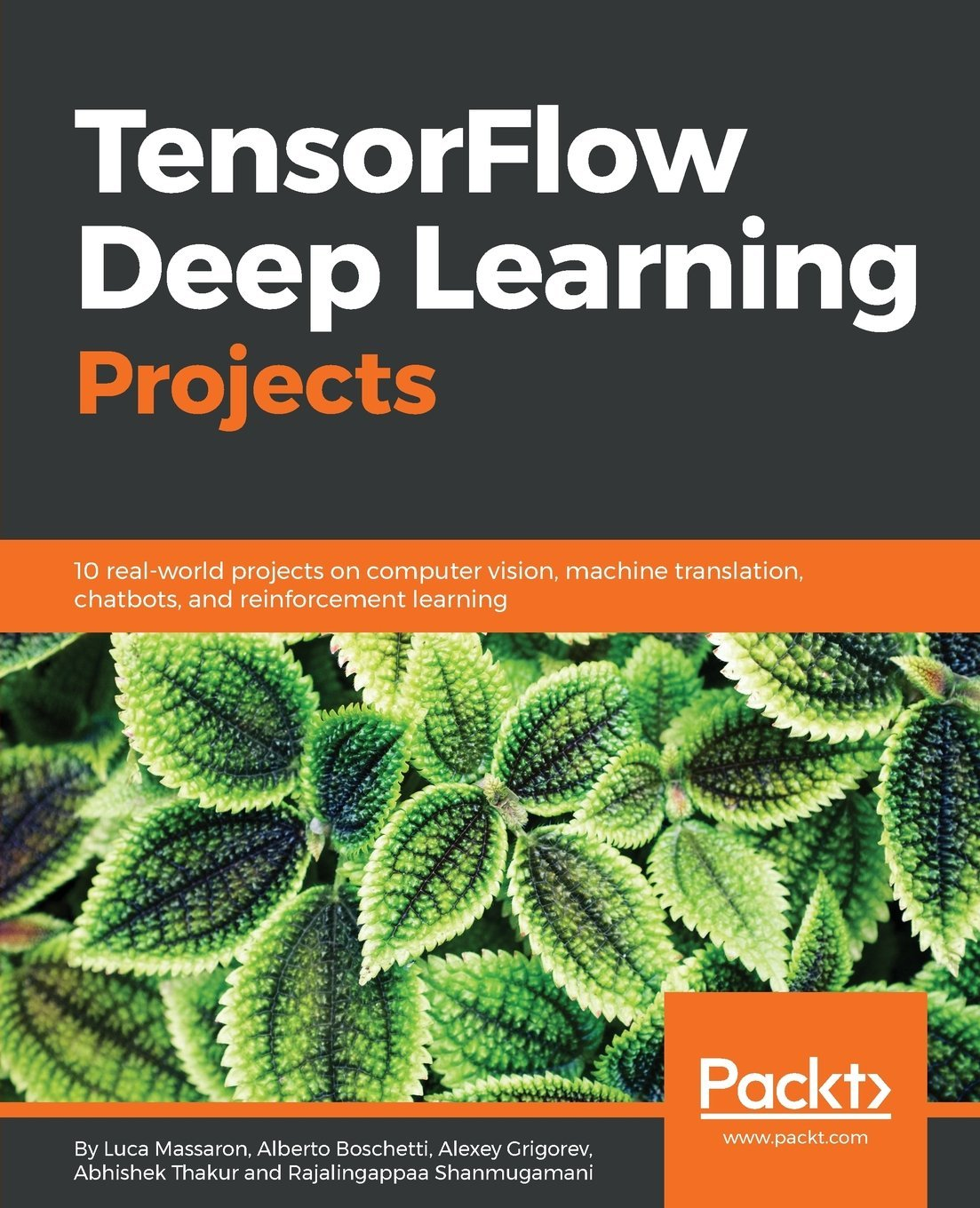 Buy TensorFlow Deep Learning Projects: 10 real-world projects on