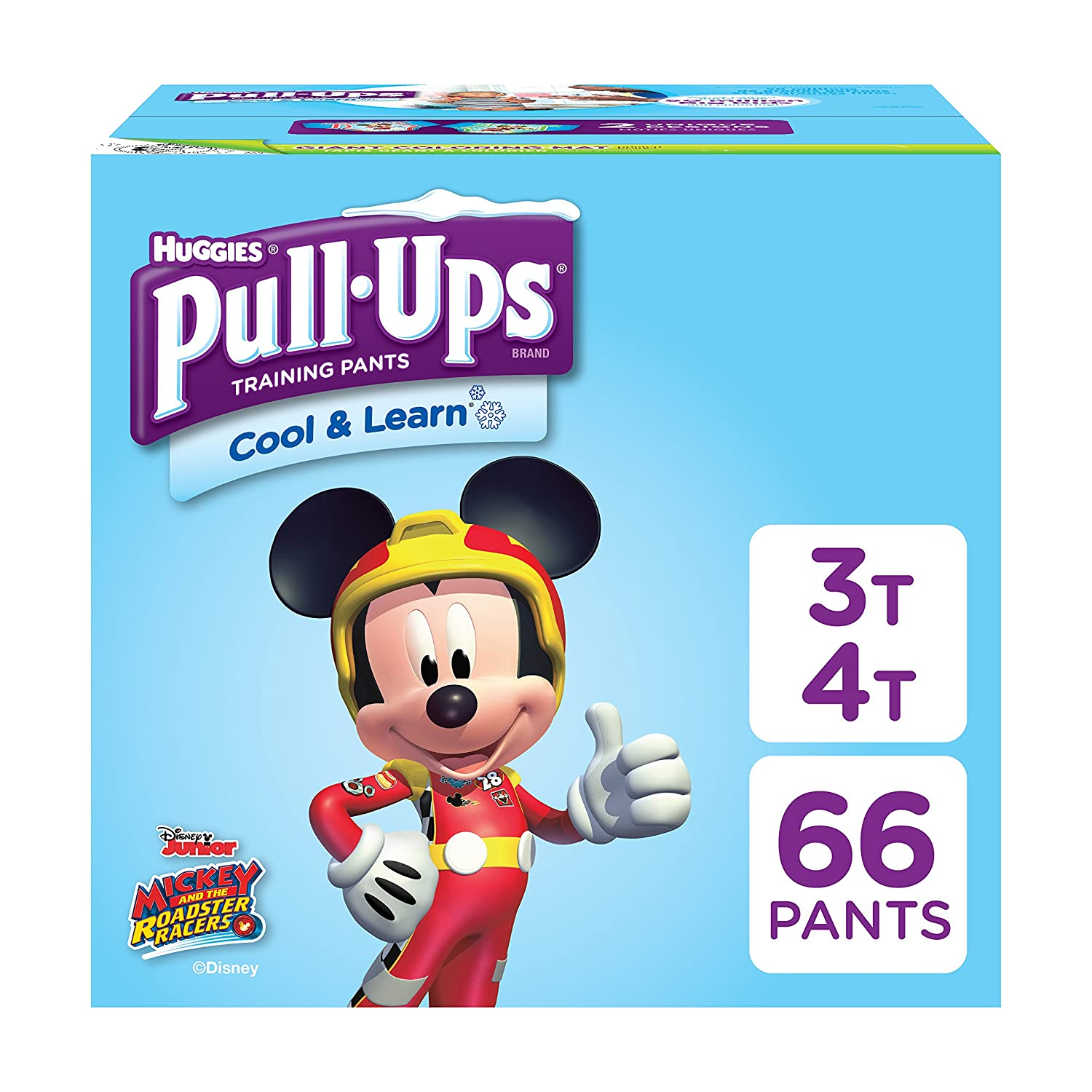 Pull-Ups Cool & Learn Potty Training Pants for Boys, 4T-5T (38-50 lb.), 56 Count Kimberly-Clark Corp. CA 45204