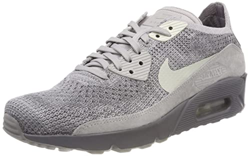 sports shoes 939a9 afc3e Nike Air Max 90 Ultra 2.0 Flyknit, Scarpe da Ginnastica Uomo, Grigio  (Atmosphere
