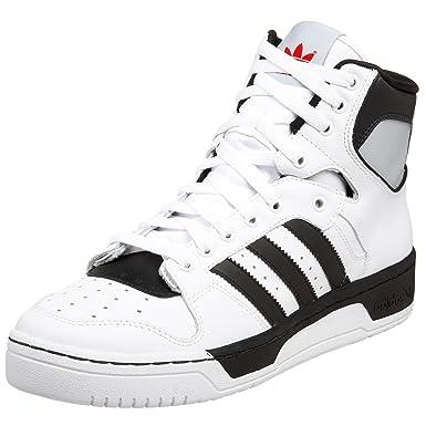 info for e6586 24169 Adidas Men's Conductor Hi Sneaker, White/Black/Scarlet, 11 M ...