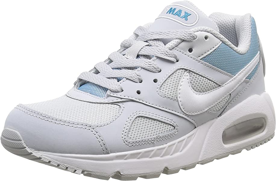 competitive price 8d65a 62830 Nike Womens Air Max IVO Fashion Running Casual Gym Walking Sneakers White