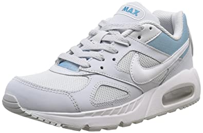 Womens Nike Air Max IVO Fashion Running Casual Gym Walking Sneakers - Pure  Platinum/White