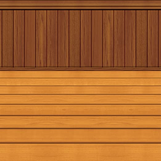 Floor Wainscoting 30-Foot Backdrop Decoration Plastic Party Accessory