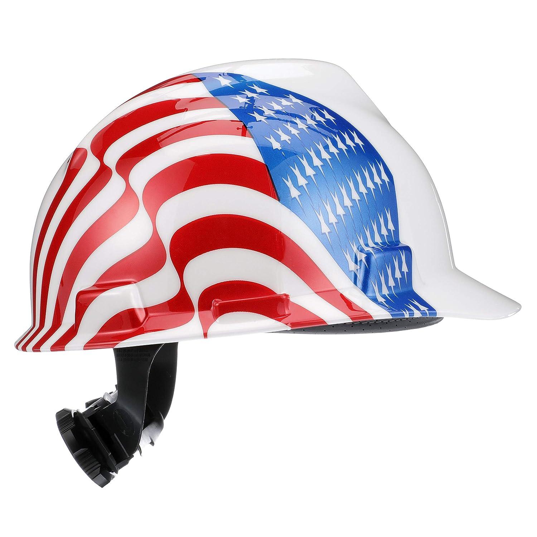 White MSA 10050611 Freedom Series V-Gard Protective Cap Standard