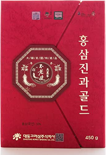 Korean Honeyed Red Ginseng Whole Roots 2lb 900g