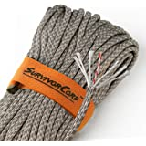 620 LB SurvivorCord   The Original Patented Type III Military 550 Paracord/Parachute Cord with Integrated Fishing Line…