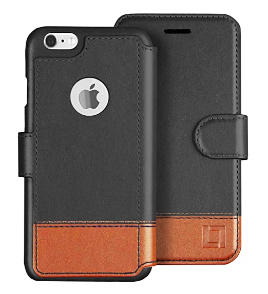 half off 5f3d7 8a1b1 LUPA iPhone 6S Wallet case, iPhone 6 Wallet Case, Durable and Slim,  Lightweight with Classic Design & Ultra-Strong Magnetic Closure, Faux  Leather, ...