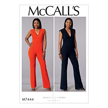 McCall \'s Patterns Schnittmuster Jumpsuit, Tissue, mehrfarbig ...