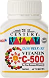 21ST Century Vitamin C 500mg, Slow Release, 60ct