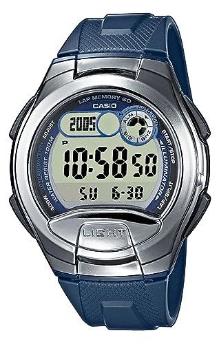 Casio Reloj Digital para Hombre de Cuarzo con Correa en Resina W-752-2AVES: Amazon.es: Relojes
