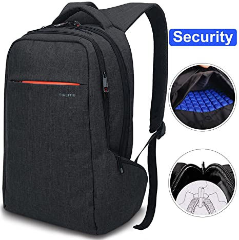 8b8a450f05 LAPACKER 15.6 inch Anti Theft Slim Water Resistant Women Men s Laptop  Backpack Bag