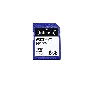 Intenso 8GB SDHC 8GB SDHC Clase 10 memoria flash - Tarjeta ...
